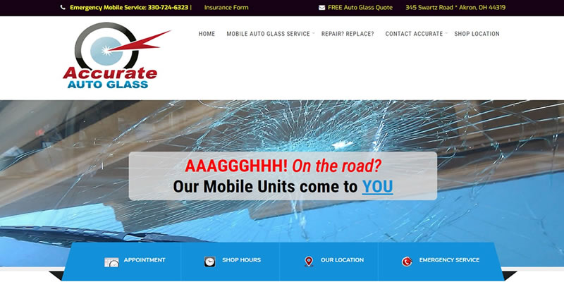 Accurate Auto Glass - 44319